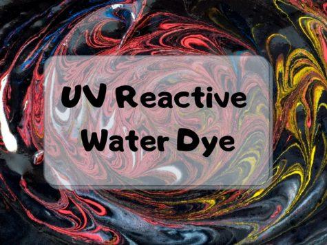 UV Reactive Water dye