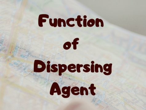 Function of Dispersing Agent