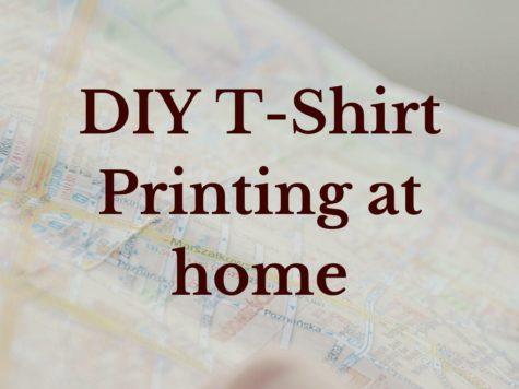 DIY T-shirt Printing at home