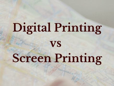 Digital Printing vs Screen Printing