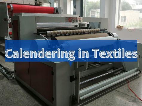 calendering textiles